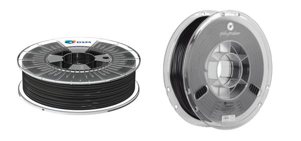 DSM Arnitel® ID 2045 and Polymaker PolyFlex™ TPU95A 3D printing filaments