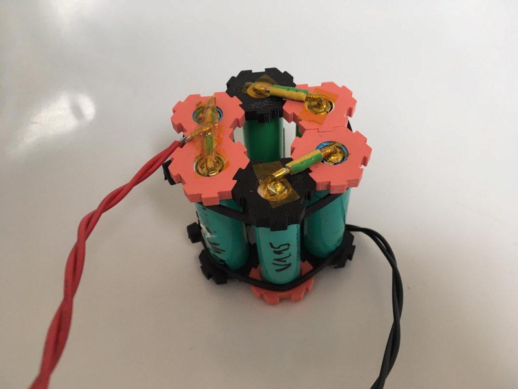 3D printed battere prototype