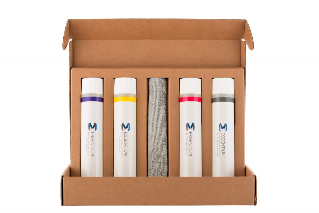 Essentium first layer adhesives powered by Magigoo